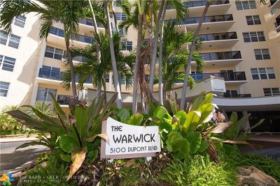 Fort Lauderdale Condo/Townhouse For Sale: 5100 Dupont Blvd #8-I