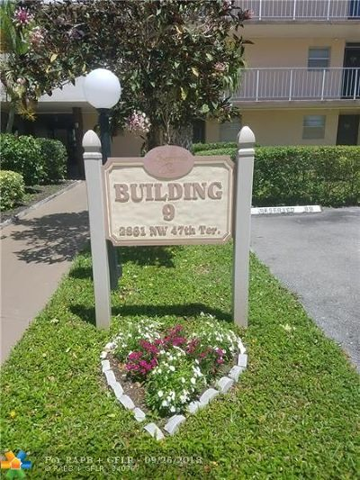 Lauderdale Lakes Condo/Townhouse Backup Contract-Call LA: 2861 NW 47th Ter #409