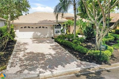 Coral Springs Single Family Home For Sale: 10623 NW 51st St