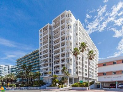 Surfside Condo/Townhouse For Sale: 9341 Collins Ave #402