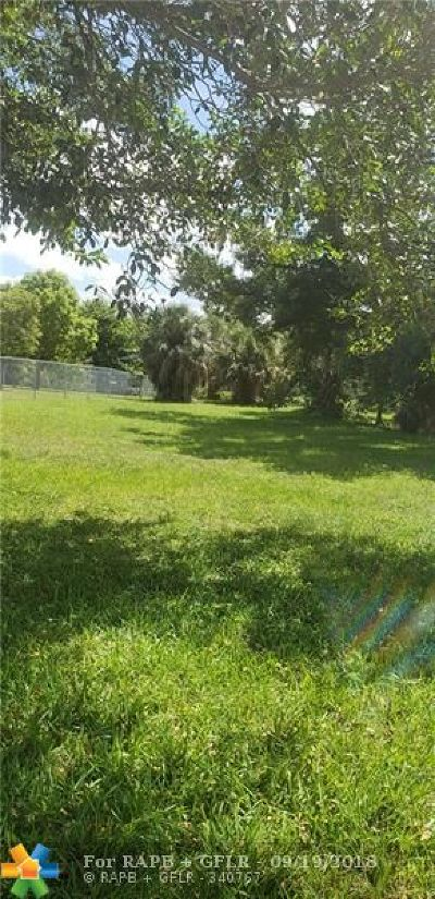 Fort Lauderdale Residential Lots & Land For Sale: 9 NW St