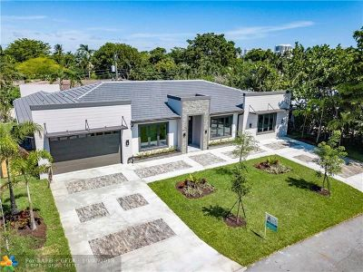 Fort Lauderdale, Lauderdale By The Sea, Lighthouse Point, Oakland Park, Pompano Beach Single Family Home For Sale: 2733 NE 25th Pl