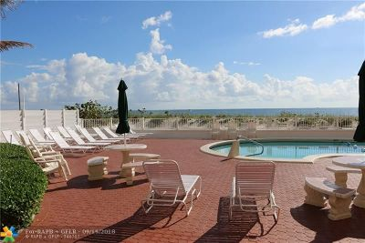 Pompano Beach FL Condo/Townhouse For Sale: $243,000