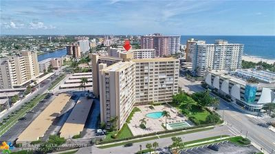 Pompano Beach Condo/Townhouse For Sale: 201 N Ocean Blvd #609