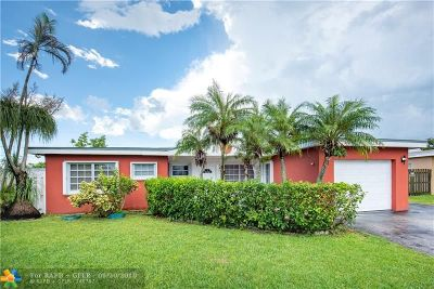 Margate Single Family Home For Sale: 6368 NW 23rd St