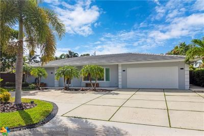 Fort Lauderdale Single Family Home For Sale: 1720 NE 59th Ct