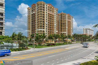 Fort Lauderdale Rental For Rent: 2001 N Ocean Blvd #701