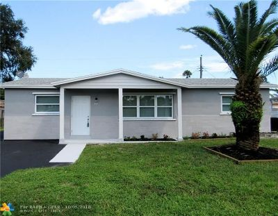 Broward County Single Family Home For Sale: 311 N 66th Ter