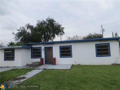 Single Family Home For Sale: 3019 NW 87th Ter