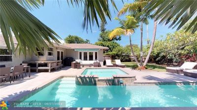 Wilton Manors Single Family Home For Sale: 2514 NE 8th Ave