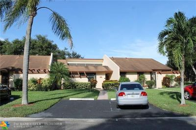 Pembroke Pines Condo/Townhouse For Sale: 9831 NW 16th Ct #9831