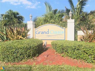 Coral Springs Rental For Rent: 5761 Riverside Dr #205B4