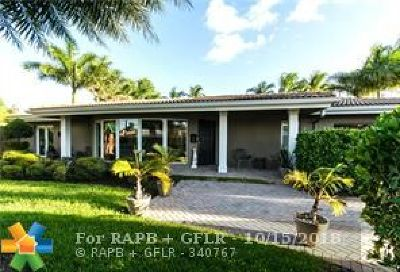 Fort Lauderdale, Lauderdale By The Sea, Lighthouse Point, Oakland Park, Pompano Beach Single Family Home For Sale: 2716 NE 34th Street