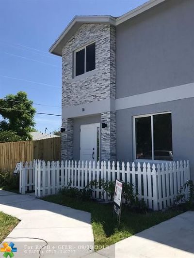 Fort Lauderdale Single Family Home For Sale: 16 NW 11