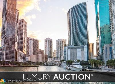 Miami Condo/Townhouse For Sale: 200 Biscayne Boulevard Way #1103