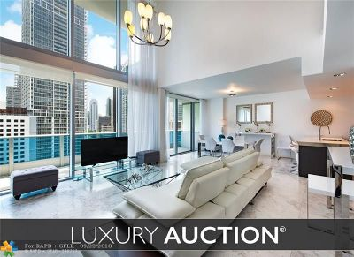 Miami Condo/Townhouse For Sale: 200 Biscayne Boulevard Way #1107