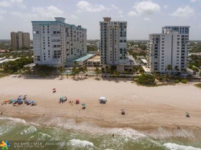 Pompano Beach Condo/Townhouse For Sale: 1000 S Ocean Blvd #5E