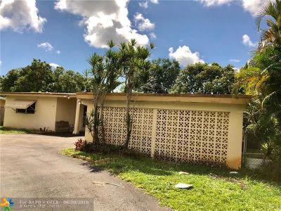 North Miami Beach Single Family Home For Sale: 410 NE 177th St