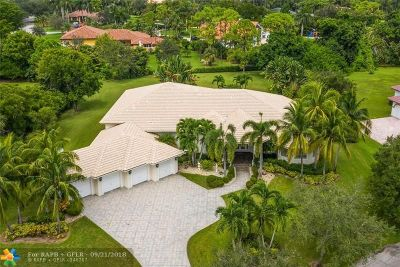Coral Springs FL Single Family Home For Sale: $1,050,000