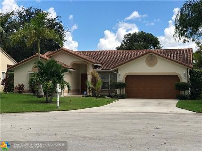 Coral Springs Single Family Home For Sale: 4111 NW 90th Ter