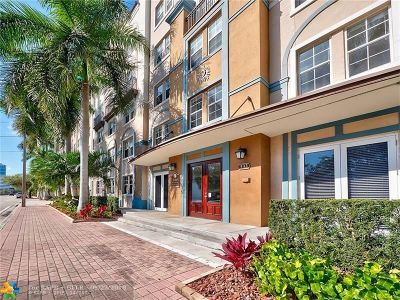 Fort Lauderdale Condo/Townhouse For Sale: 533 NE 3rd Ave #510