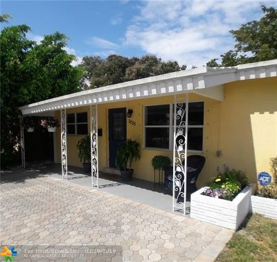Fort Lauderdale Single Family Home For Sale: 1125 NE 16th St