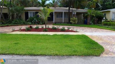 Fort Lauderdale Single Family Home For Sale: 1624 NE 5th Ct