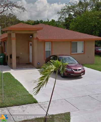 Miami Single Family Home Backup Contract-Call LA: 2175 NW 50th St