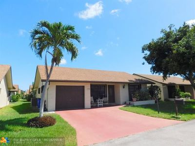 Deerfield Beach Single Family Home For Sale: 1546 SW 23rd Way