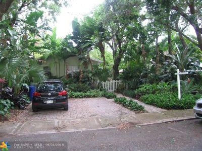 Fort Lauderdale Rental For Rent: 1215 SE 2nd St #Front