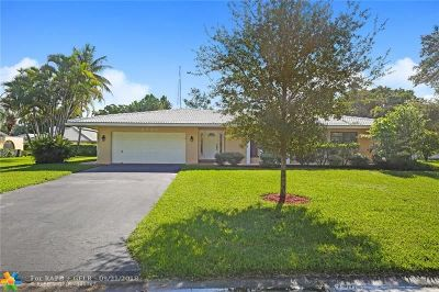 Coral Springs Single Family Home For Sale: 2701 NW 106th Dr