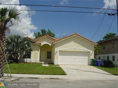Fort Lauderdale Single Family Home For Sale: 2911 NW 8th Rd