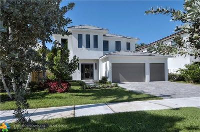 Fort Lauderdale Single Family Home For Sale: 419 NE 13th Ave