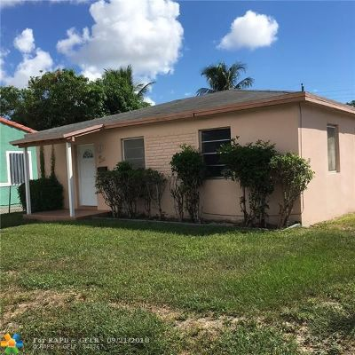 Fort Lauderdale Single Family Home For Sale: 1500 N Andrews Ave
