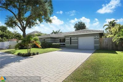 Wilton Manors Single Family Home For Sale: 2133 NE 3 Avenue