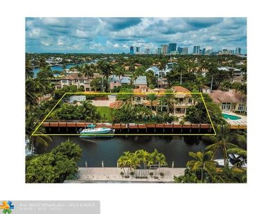Las Olas Isles Single Family Home For Sale: 600 San Marco Dr