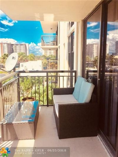 Fort Lauderdale Rental For Rent: 3031 N Ocean Blvd #408