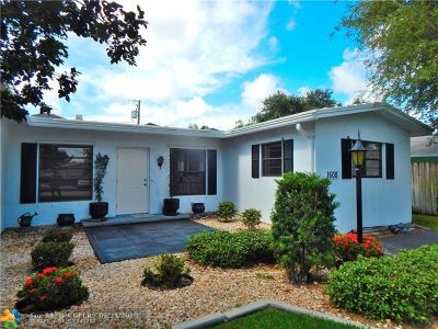 Fort Lauderdale Single Family Home Backup Contract-Call LA: 1508 SW 22nd St