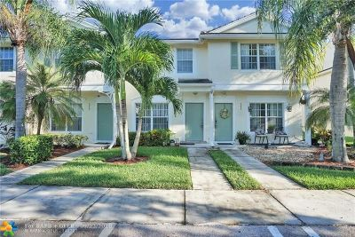 Coral Springs Condo/Townhouse For Sale: 9839 NW 57th Mnr #9839