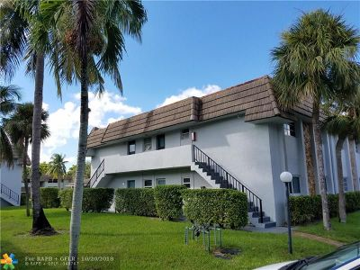 Coral Springs FL Condo/Townhouse For Sale: $139,900