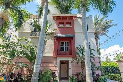 Fort Lauderdale Condo/Townhouse For Sale: 1033 NE 17th Way #801