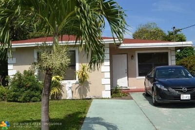 Dania Beach Single Family Home For Sale: 226 NW 8th Ave