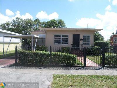 Miami Single Family Home Backup Contract-Call LA: 1808 NW 57th St