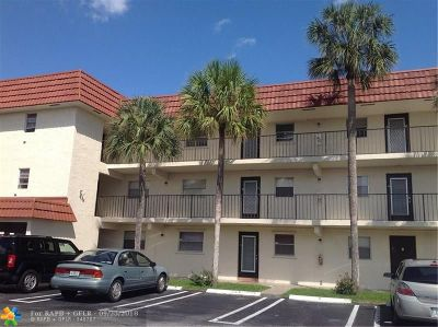 Coral Springs FL Condo/Townhouse For Sale: $110,000