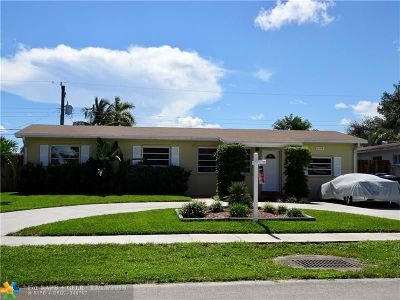 Fort Lauderdale Single Family Home For Sale: 3130 SW 23rd St