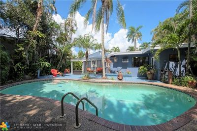 Fort Lauderdale Single Family Home For Sale: 732 NW 19th St