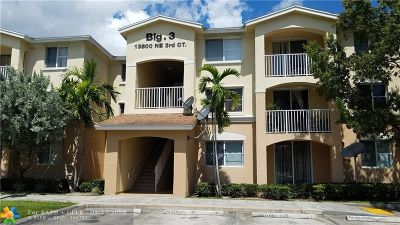 North Miami Condo/Townhouse For Sale: 13800 NE 3rd Ct #103