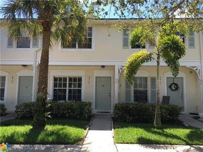 Coral Springs Condo/Townhouse Backup Contract-Call LA: 9910 NW 56th Pl #9910
