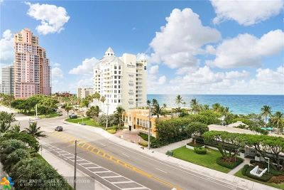 Fort Lauderdale Condo/Townhouse For Sale: 1905 N Ocean Blvd #6F