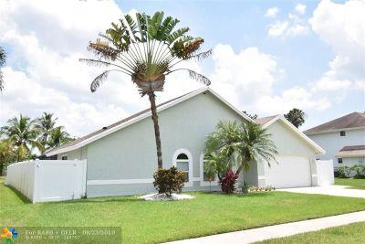 Boca Raton FL Single Family Home For Sale: $420,000